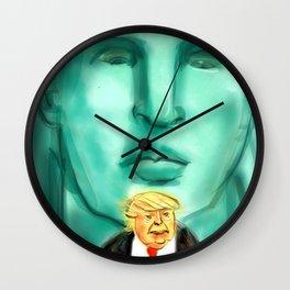 We're Watching You Wall Clock