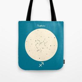 Sagittarius - Blue Tote Bag