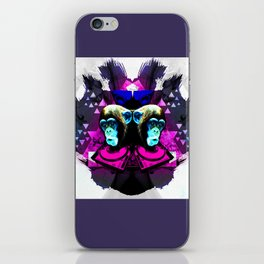 Crazy Apes iPhone Skin