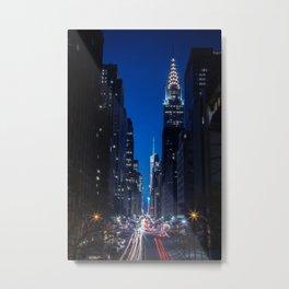 Tudor City Views, New York City Metal Print