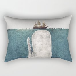 The White Whale Rectangular Pillow