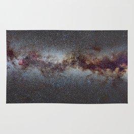 The Milky Way from Scorpio Antares and Sagitarius to North America Nebula in Cygnus Rug