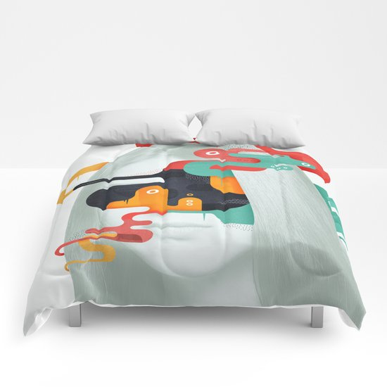 Burn to shine Comforters