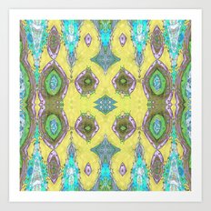 Fancy Yellow Art Print