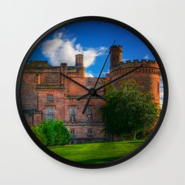 Dalhousie Castle of Scotland Wall Clock