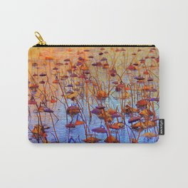 Dead Lotus Flower Carry-All Pouch