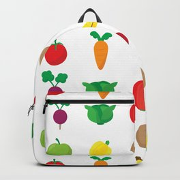 A Cute Concoction of Fruit and Vegetable. Vegan Heaven! Backpack
