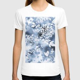 Watercolor splash floral T-shirt