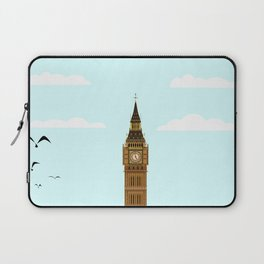 Big Ben Blue Skies Laptop Sleeve