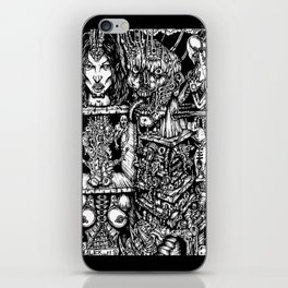 Carnal Sections iPhone Skin