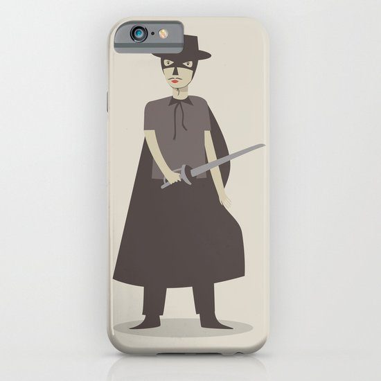 El Zorro iPhone & iPod Case