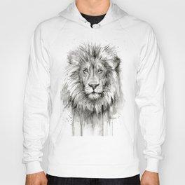 Lion Watercolor Hoody