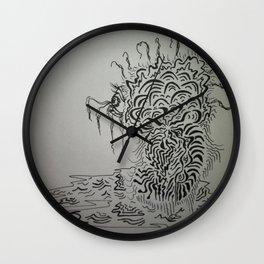 Ink Baby Doodle Wall Clock