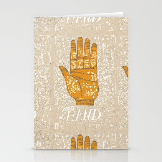 THE PALM READER Stationery Cards
