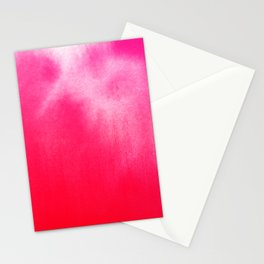Watercolor Pink Stationery Cards