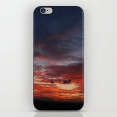 Burning Sky iPhone & iPod Skin