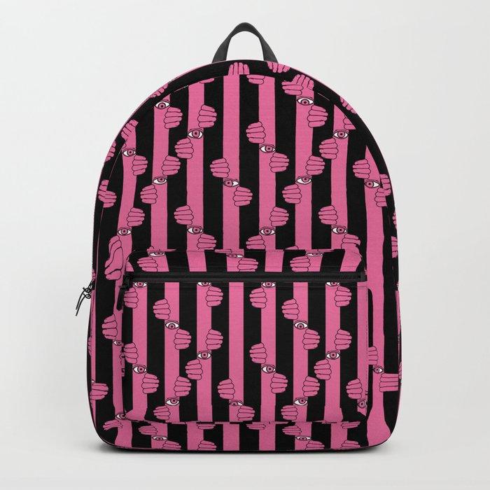 Peeking eyes Backpack