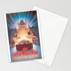 The Great Movie Ride Original Poster Stationery Cards