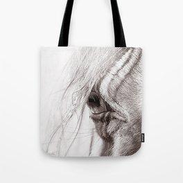 Perlino Eye Tote Bag