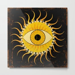 All-seeing sun Metal Print