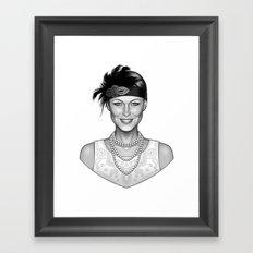 Emma's Charm Framed Art Print