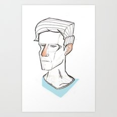 Tired Art Print