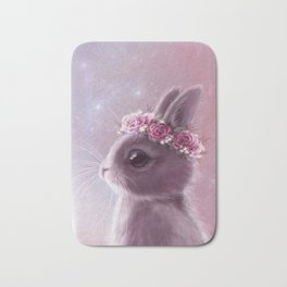 Fairy bunny Bath Mat