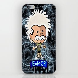 Tiny Einstein iPhone Skin