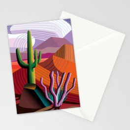 Black Canyon Desert Stationery Cards