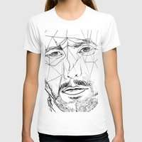 men T-shirts featuring Men by Mary Szulc