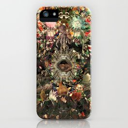 Mandara [Sufferings caricature] iPhone Case