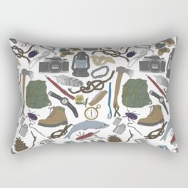 Adventure Equipment Rectangular Pillow