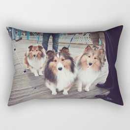 Shelties Rectangular Pillow