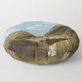 Yellow Mounds - Badlands National Park Floor Pillow