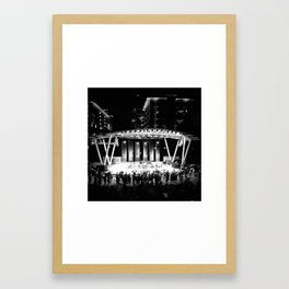 Rusted Root in Greenville Framed Art Print