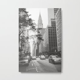 The Chrysler Building New York City Metal Print