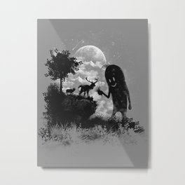 The Friendly Visitor Metal Print