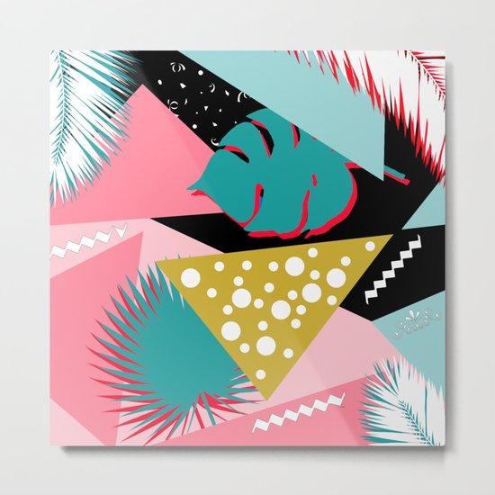 tropical mix colors Metal Print