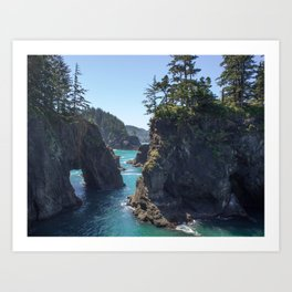 Southern Oregon Coast Art Print