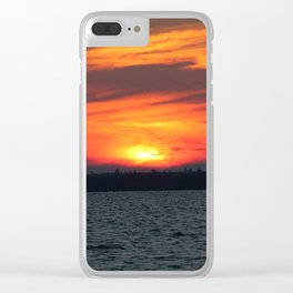 pelican lake hideout Clear iPhone Case