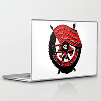 military Laptop & iPad Skins featuring USSR military symbol by fludra.info