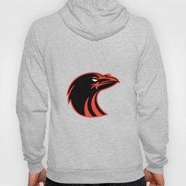 Angry Raven Head Icon Hoody