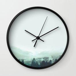 *Chasing Sorrow* #Society6 Wall Clock