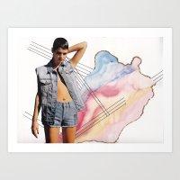 Girl Time No. 9 Art Print