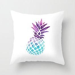 Pineapple Paradise - Ice Dye Throw Pillow