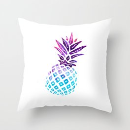 Pineapple Paradise - Ice Dye Throw Pillow