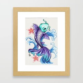 For Luck Framed Art Print