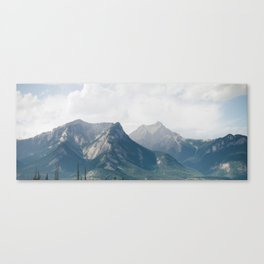 Lost in the Mountains Canvas Print