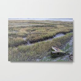 North Kent Marshes Metal Print