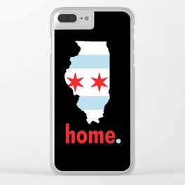 Illinois Proud Clear iPhone Case
